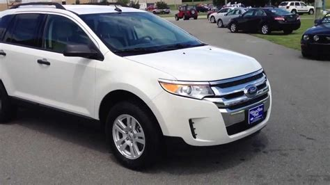2013 Ford Edge Se by New 2013 Ford Edge Se White Suede For Sale