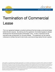 early termination letter to landlord sample mercial With sample letter to terminate commercial lease agreement