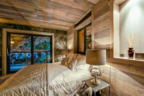 dans chambre d hotel decoration chalet villa interieur et amenagement plus