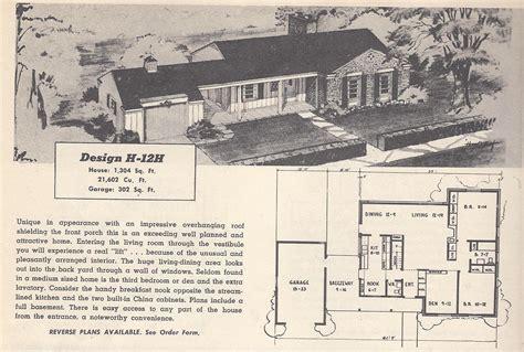 tri level house plans 1970s vintage house plans 12h antique alter ego