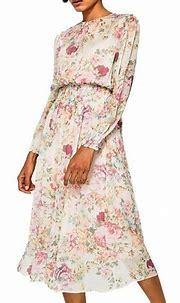 Spring floral print chiffon dress – Paris Winkle | Floral ...