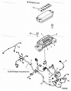 Polaris Side By Side 2016 Oem Parts Diagram For Electrical