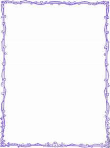Purple Border Free Clipart