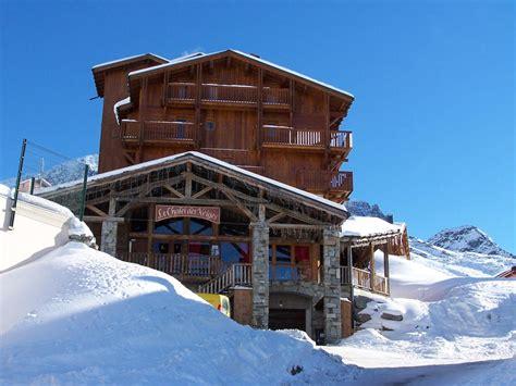 ski rental holidays val thorens residence chalet des neiges hermine