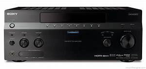 Sony Str-da5400es - Manual