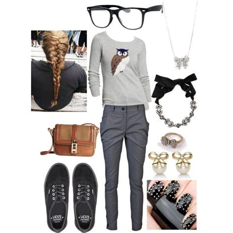 Cute nerd outfits for nerd day | Cute Nerdu0026quot; by kimduarte on Polyvore | nerdy outfits | Pinterest ...
