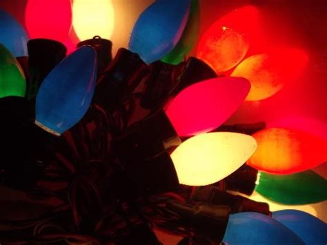 60s 70s vintage christmas lights lot big light bulbs w