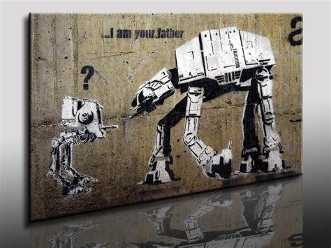 banksy bilder kaufen kunstdruck banksy graffiti bild auf leinwand wandbild k poster ebay