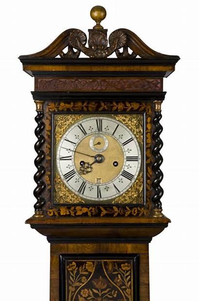 Clock Antique John Longcase Res Clowes Previous