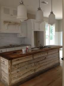 rustic kitchen islands 30 rustic countertops that add coziness to your home digsdigs