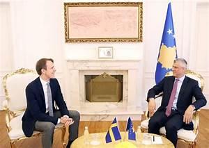 President Thaçi received the Swedish Ambassador at a ...
