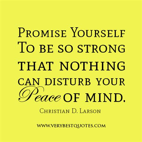 What Was Promised And What Needs To Be Need Peace Of Mind Quotes Quotesgram