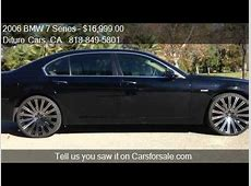 2006 BMW 7 Series 750Li for sale in VAN NUYS, CA 91406