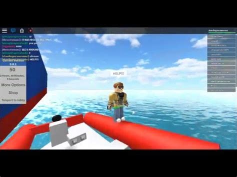 titanic flashbacks roblox sinking ship simulator youtube