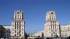 Full HD Wallpaper minsk tower soviet architecture belarus