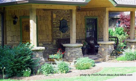 Craftsman Style Porches And Columns by Front Porch Columns Vinyl Porch Posts