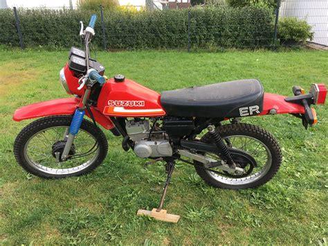 1980 Suzuki Ts 50 Er Xk Red