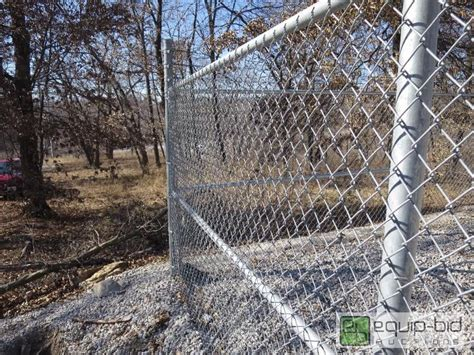 Chain Link 240 Ft. Fence 6 Ft. High With 2 Ft. Of Barbed