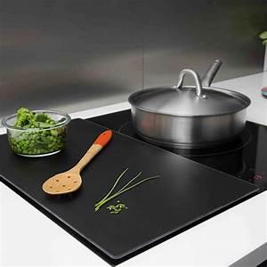Poele Pour Plaque Induction : planche de protection pour plaque de cuisson pebbly ~ Premium-room.com Idées de Décoration