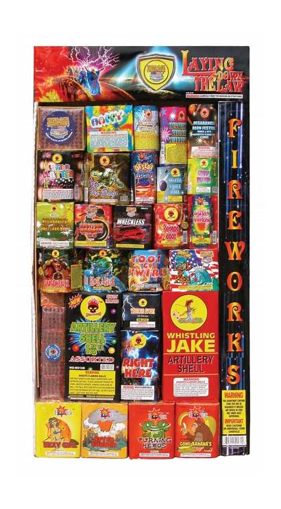 Down Laying Law Fireworks Assortment Firework Packs