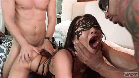Asa Akira Gets Dpd By Two Hard Cocks Porntube