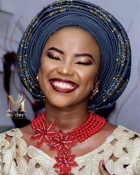 Maquillage et gele - mariage africain - Afroculture.net