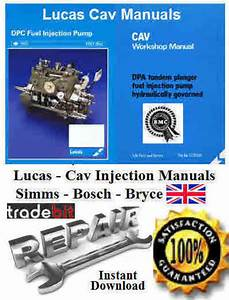 Cav Fuel Injection Pump Bpe6c Parts Manual