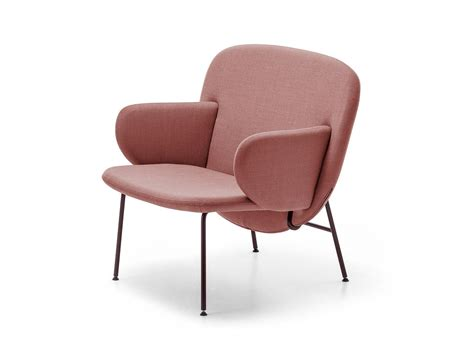 Easy Chair Upholstery by Ala Easy Chair With Armrests By La Cividina Design