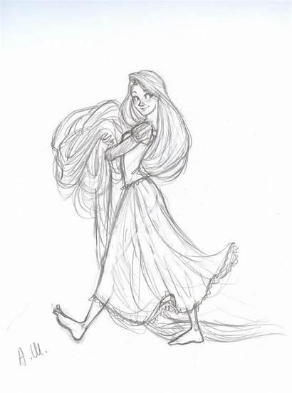 Deviantart Disney Drakonarinka Rapunzel