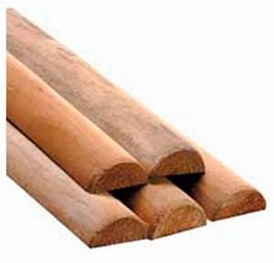 Bois Autoclave Classe 4 : demi rondin bois pin autoclave classe 4 menuiserie bertin ~ Premium-room.com Idées de Décoration