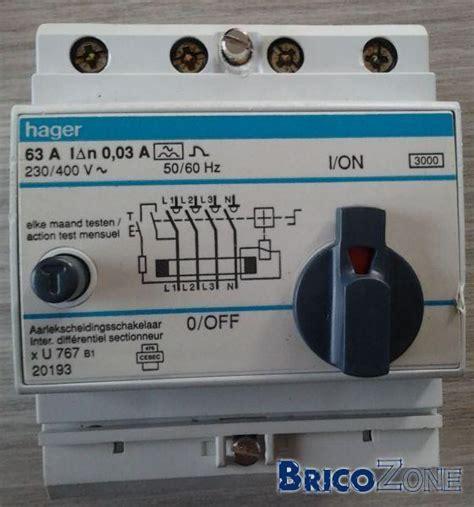 remplacement disjoncteur diff 233 rentiel