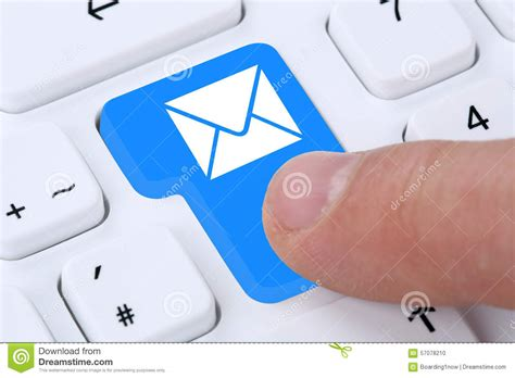 sending  mail email mail message  computer stock photo