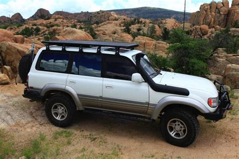 toyota land cruiser  series  roof rack kit equipt expedition outfitters