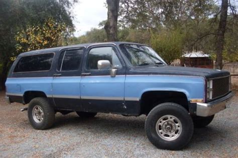 small engine repair training 1995 gmc suburban 2500 electronic throttle control sell used 1995 chevy surb k2500 7 4 engine 4x4 auto in newport north carolina united states