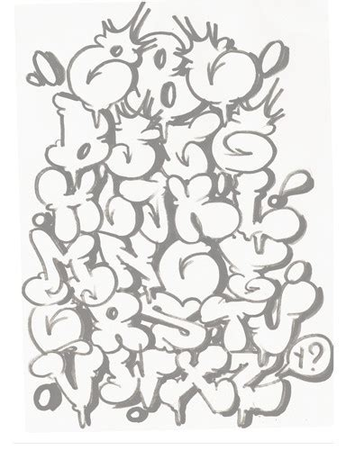 alphabet letters in graffiti bubbles wiki graffiti graffiti alphabet