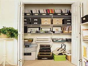 Bloombety smart home office closet organization ideas for Home office closet organization ideas