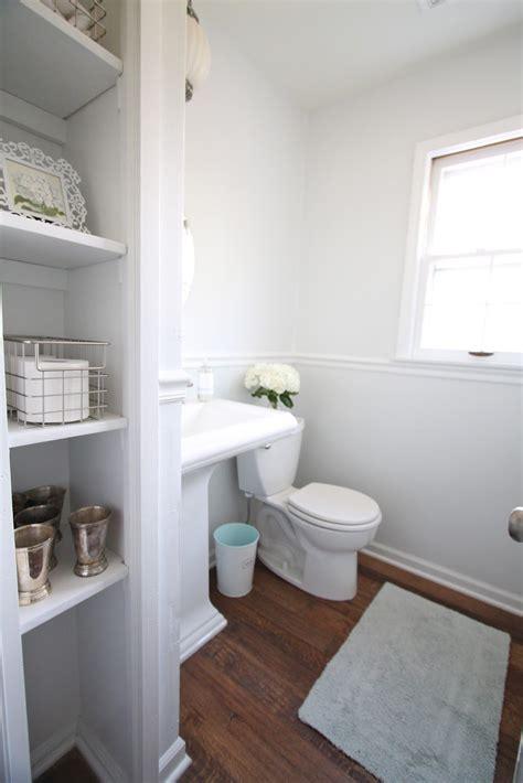 bathroom nook    closet doors