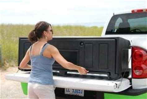 aerobox rear mounted truck box  transporting cargo easy
