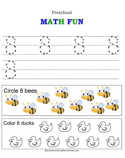 number worksheets 414 | math fun 8