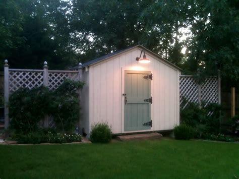gooseneck barn light adds delightful farm touch to garden