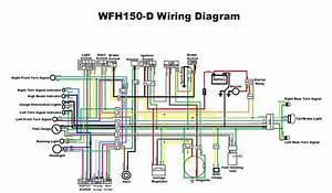Phantom Scooters 150cc Wiring Diagram