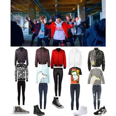 BTS u0026#39;Not todayu0026#39; mv Outfits. | Loewe Balmain and Christian dior