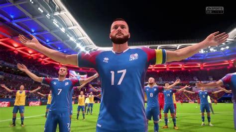 Fifa World Cup Iceland Celebration Youtube