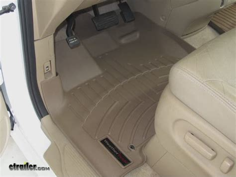 Honda Odyssey All Weather Floor Mats 2008 by Weathertech Floor Mats Honda Odyssey