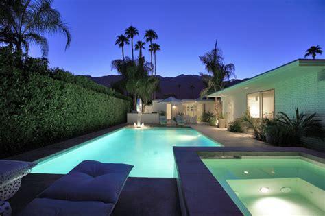 palm springs modern midcentury pool los angeles