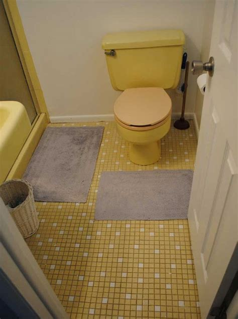 vintage bathroom tile ideas 33 vintage yellow bathroom tile ideas and pictures