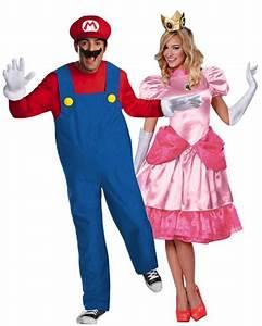 Déguisement Couple Célèbre : couple mario et peach d guisement en couple le ~ Melissatoandfro.com Idées de Décoration