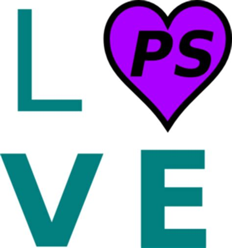 Love Ps Clip Art At Clkercom  Vector Clip Art Online, Royalty Free & Public Domain