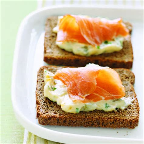 canapé entrée smoked salmon and egg canapes recipe myrecipes