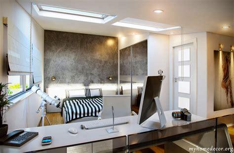 briliant design white black home office bedroom decosee com